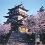 高島城の春