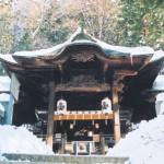 手長神社の冬