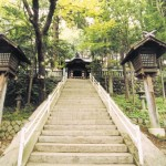 手長神社の石段
