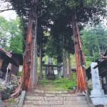 足長神社の石段