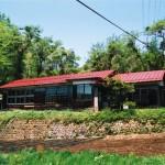 板沢の民家