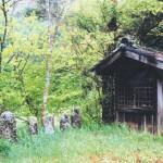 廃村の風景