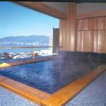 旅館の 展望露天風呂