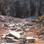 鉄平石採石場