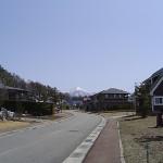 高原の住宅地(茅野市)
