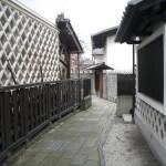 古い街並み(下諏訪町)